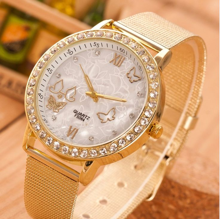 Women's Watch with Butterfly Pattern // Price: $8.95 & FREE Shipping Worldwide //  We accept PayPal and Credit Cards.    #beautiful