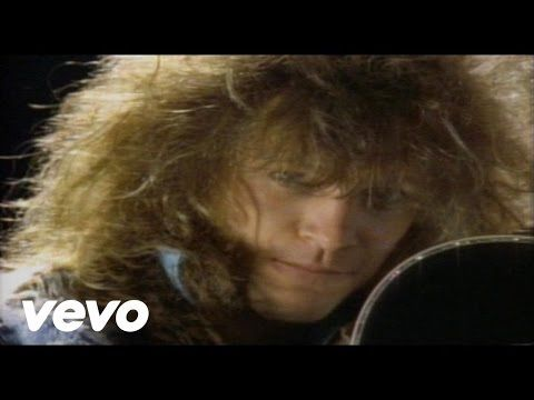 Music video by Bon Jovi performing Never Say Goodbye. (C) 1986 The Island Def Jam Music Group