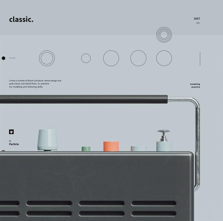 3D Classic Braun Design - Mindsparkle Mag