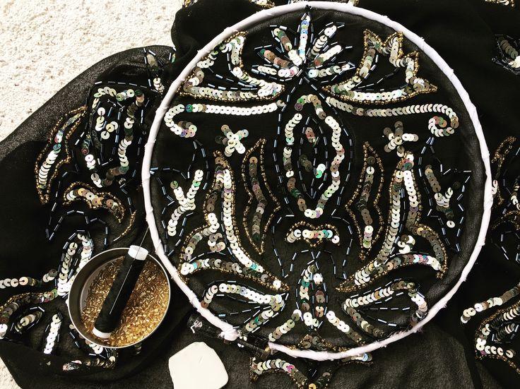 #retro #hautecouture #littleblackdress #retrodress  #20years #20yearsdress #handmade #beads #goldenbeads #silversquare #square #squaredress #silkdress #blacksilk #fashiondesign #dress2impress #dresstoimpress #brasov #dressoftheday #luxury #luxurydress #luxurious #margo #margoconcept #rochiedeseara #negru #margele #paiete