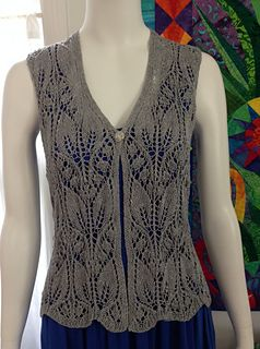 This pattern is for experienced lace knitters looking for a challenging and satisfying lace garment to knit. FREE