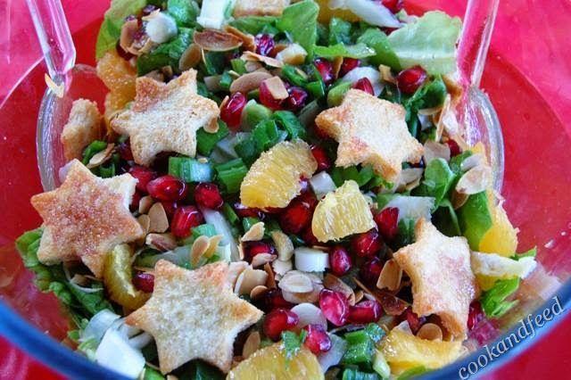 Γιορτινή σαλάτα/Festive Salad