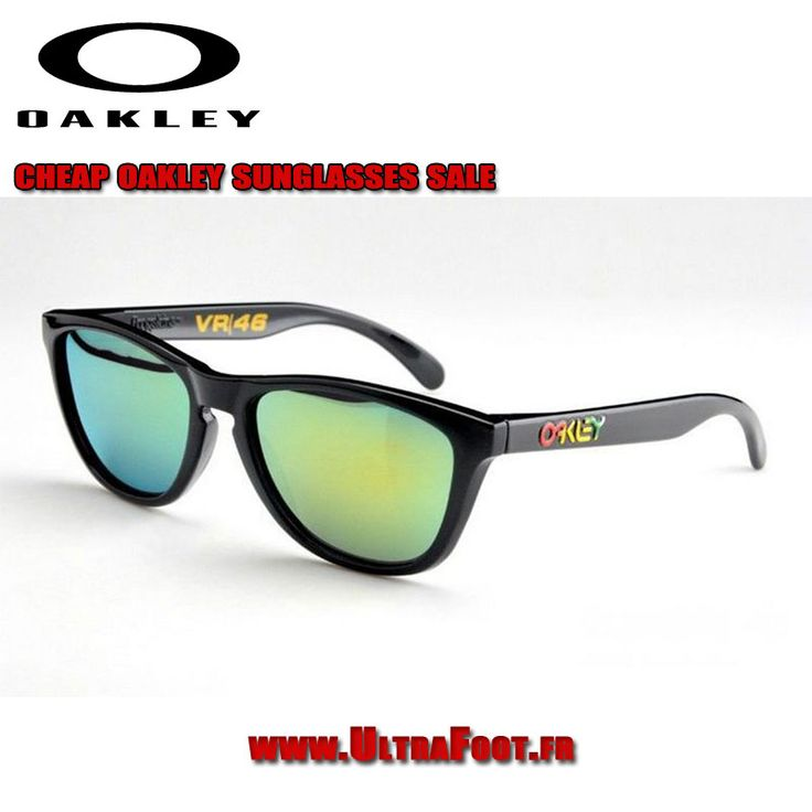 Oakley Frogskins Lunettes de soleil Valentino Rossi Signature Series oakleys 7165 ultrafoot
