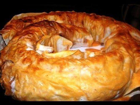 Очень вкусный пирог из лаваша с фаршем и картошкой. - YouTube