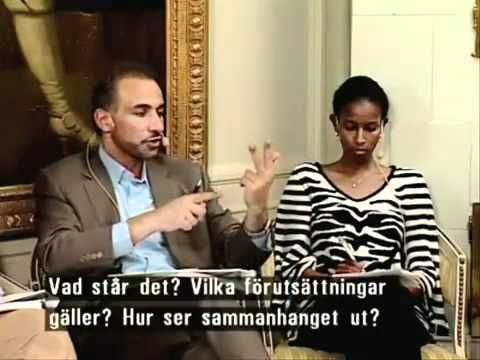 Tariq Ramadan and Ayaan Hirsi Ali - Debate (2/3) - YouTube