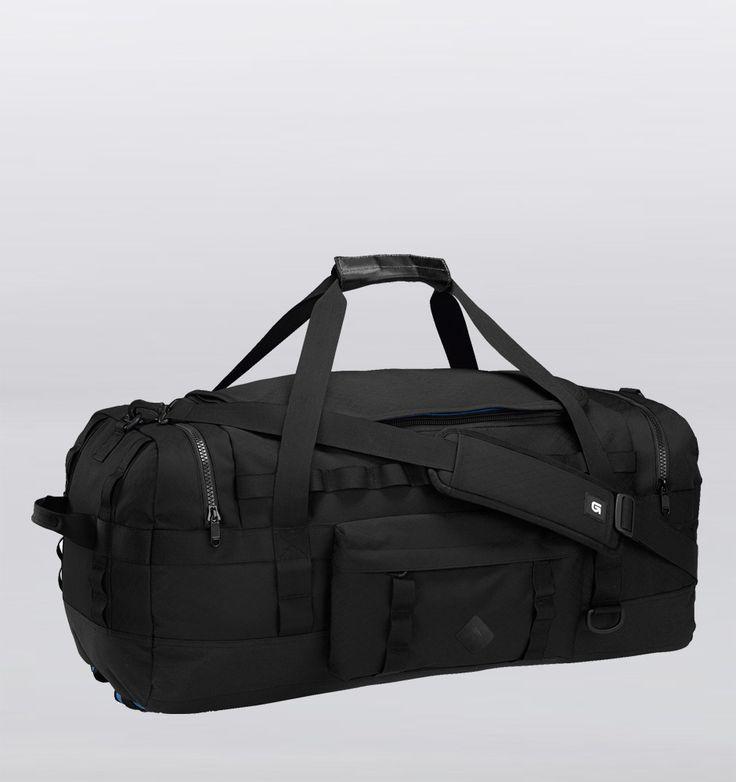 Rushfaster.com.au - Burton Performer 50L Convertible Duffle Bag - Black Rip Tarp