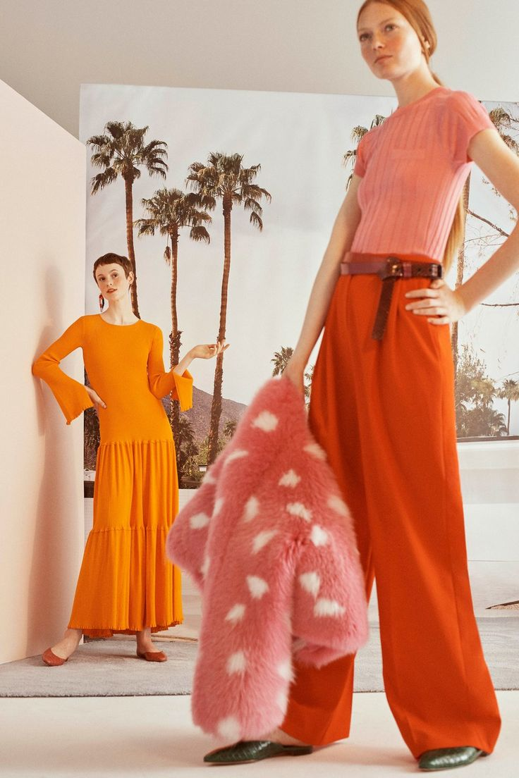 Carolina Herrera Resort 2019 Fashion Show
