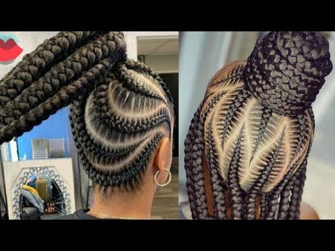 42 Catchy Cornrow Braids Hairstyles Ideas To Try In 2020 Africanhairstyles On Naturalhair Youtube In 2020 Hair Styles Natural Hair Styles Relaxed Hair