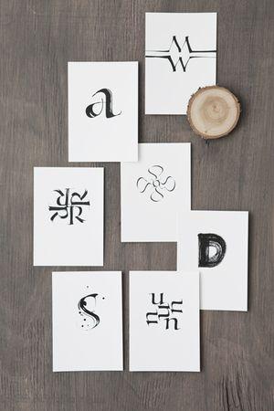 Alphabet postcards!