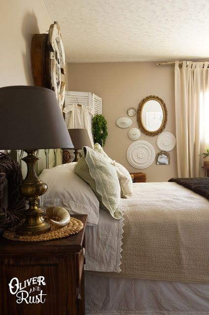 Stunning bedroom - love the architectural details