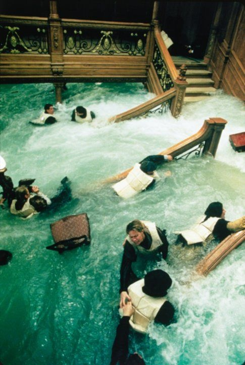88 best images about titanic on pinterest turkish bath - Was the titanic filmed in a swimming pool ...
