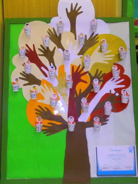 Adventní kalendář - s přáním pro stromy