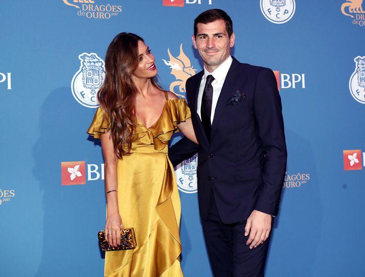 Sara Carbonero y Iker Casillas deslumbran en la Gala de los Dragones de Oporto