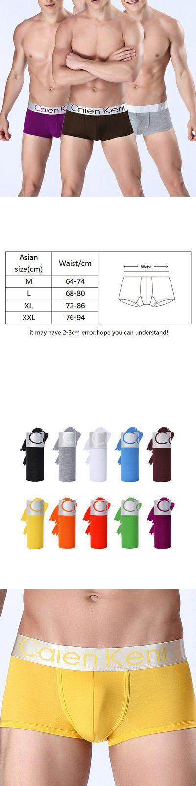Man Boxers: Men Cotton Breathable Underwear Boxer Briefs Shorts Bulge Pouch Underpants -> BUY IT NOW ONLY: $2.59 on eBay!