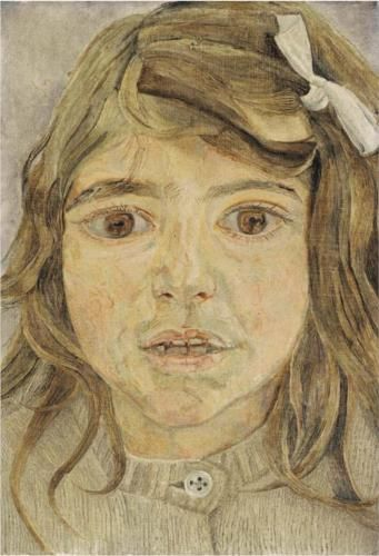 Head of a Child - Lucian Freud