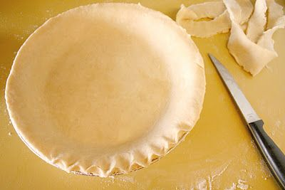 basic pie dough...