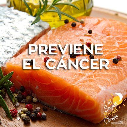 Agregar salmón a tu dieta ayuda a mejorar la      textura de tu piel, cabello, uñas y prevenir          diferentes tipos de cáncer #LBBO #Salmón #Beneficio #BisquetsObregón.