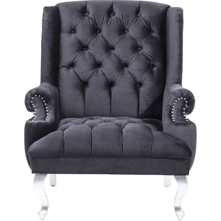 Barocco Black Armchair • WOO Design