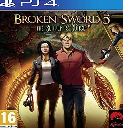 Deep Silver Broken Sword 5: The Serpents Curse (PS4) No description (Barcode EAN = 4020628845438). http://www.comparestoreprices.co.uk/latest2/deep-silver-broken-sword-5-the-serpents-curse-ps4-.asp