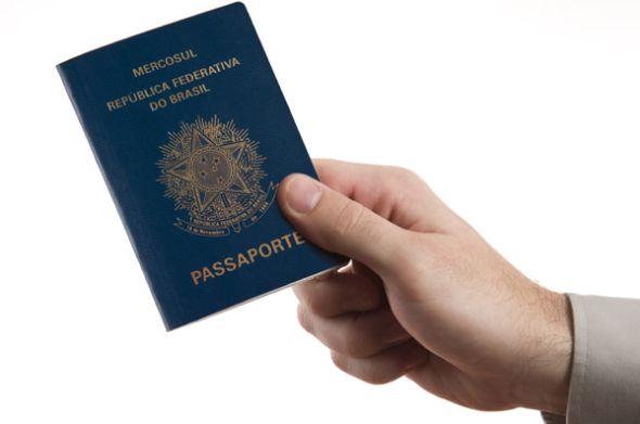 A produção de passaportes está suspensa no Brasil devido a crise