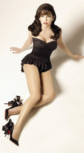 Lauren Graham as a sexy pin up | Lauren Graham