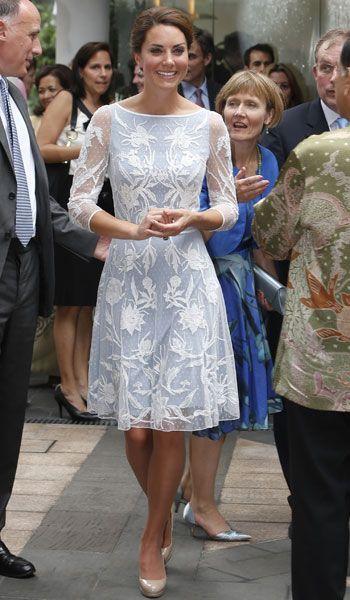 Kate the duchess of Cambridge: Asian Tour Day 4- For Diamond Jubilee Tea Party