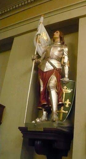 Joan of Arc, St Louis Basicilla.