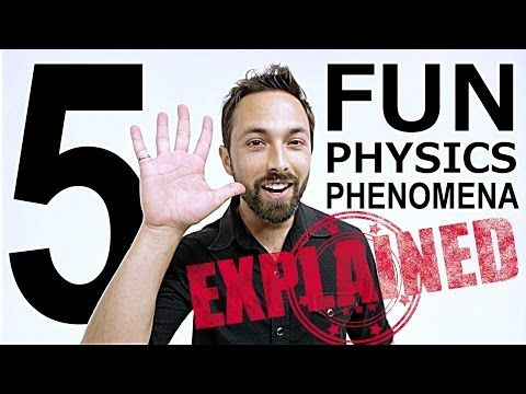 WATCH: The science behind the five coolest physics phenomena (ScienceAlert)