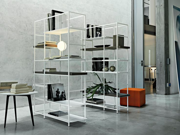 Scaffale Componibile In Metallo PLAIN By Lema Design Francesco Rota. Find  This Pin And More On Bookcase By Chiachiehliu. Sectional Metal Shelving Unit  ...
