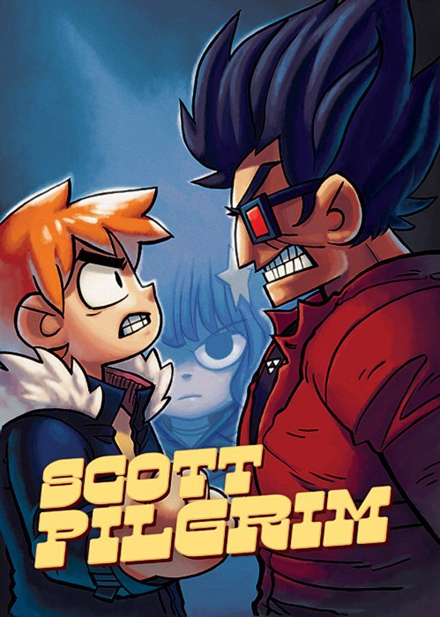 Japan gets Street Fighter-inspired Scott Pilgrim cover. No Fair! | GamesRadar