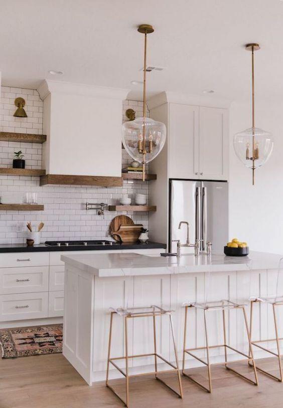 Easy Design Ideas For Your Own Stylish Eat In Kitchen Avec Images Cuisine Moderne Table De Cuisine Moderne Cuisines Design