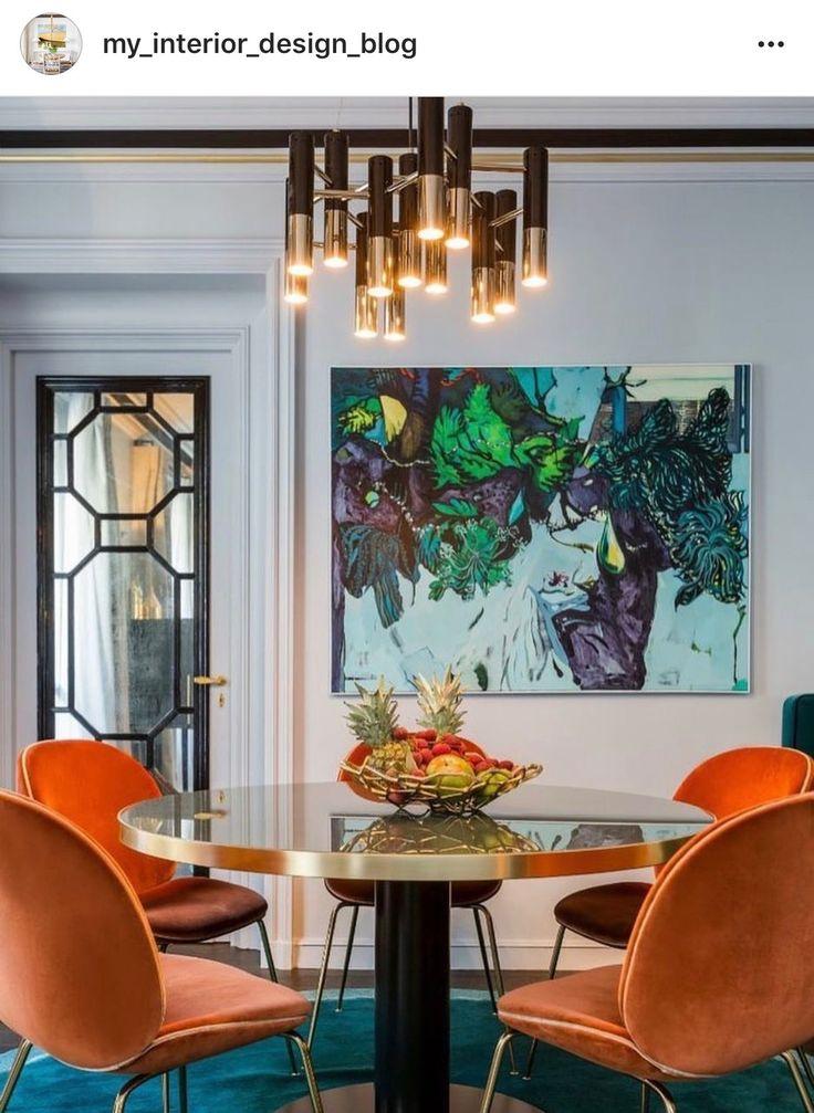 150 besten Interiors - Dining Rooms Bilder auf Pinterest | Deko ...