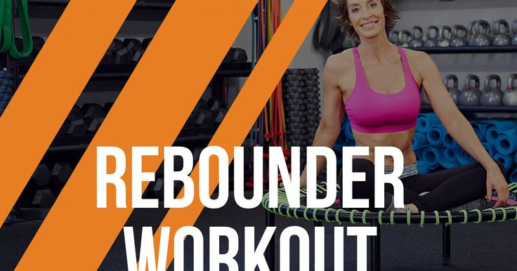 How long has it been since you jumped on a trampoline? Since you were a kid? Well it's time to channel your inner child during your workouts by adding a rebounder into the mix. A rebounder is similar to a trampoline except smaller, which means it provides a little bit more resistance and less bounce than a standard trampoline. But not only...
