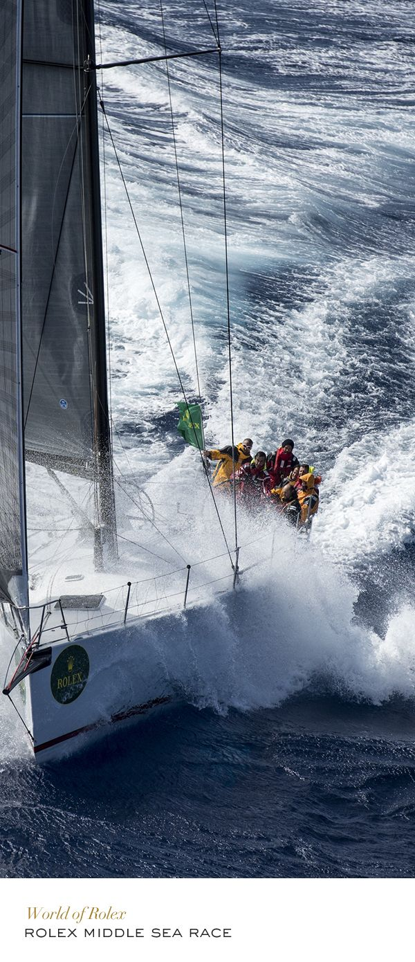 2014 Rolex Middle Sea Race #Yachting #RolexOfficial More