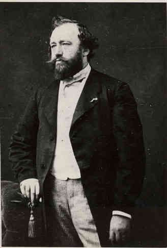 Belgian musician Adolphe Sax, born November 6, 1814.  He invented the saxophone.