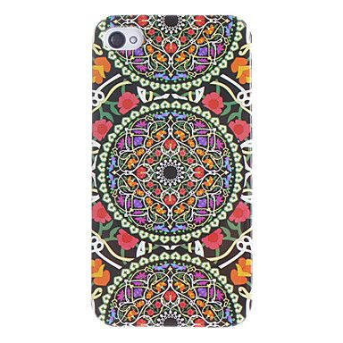 Tripla Flora Circles Pattern Custodia rigida per iPhone 4/4S – EUR € 2.99