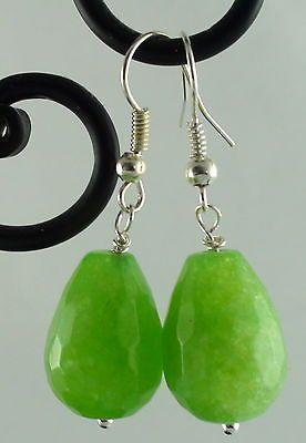 Beautiful-Large-Green-Kyanite-Faceted-Drops-Earrings-Hand-Made