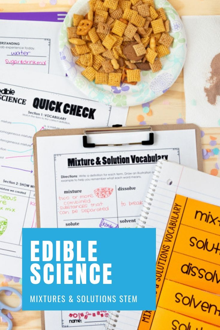 Mixtures And Solutions Lab Activities For Kids Solutions And Mixtures Lab Activities Stem Classroom [ 1102 x 735 Pixel ]
