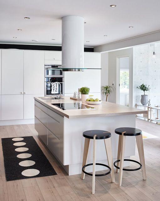 Blog wnętrzarski - design, nowoczesne projekty wnętrz: Norweski dom design wnętrza