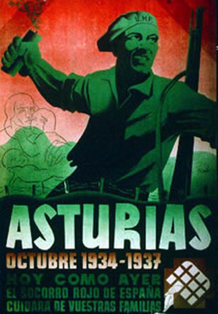 Spanish Civil War poster (1936-1939) ~Via Rogério Zaia