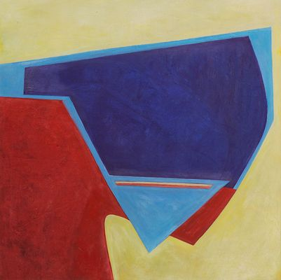 Fran Shalom Paintings 2014 oil on wood panel
