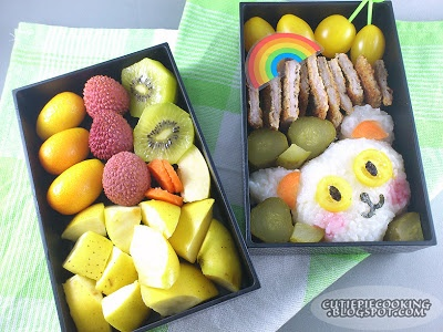 Exotic fruit & Polish cuisine in one box :)