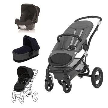 Compact, sturdy and beautiful to look at, the Affinity pram system was a firm favourite among our testers and worked equally well on pavements and country walks