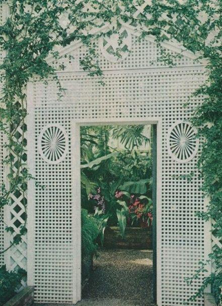 Inspiration: Treillage at Duke Gardens