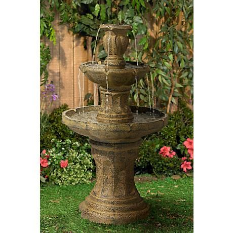 222 best Fountains images on Pinterest | Outdoor fountains, Garden ...