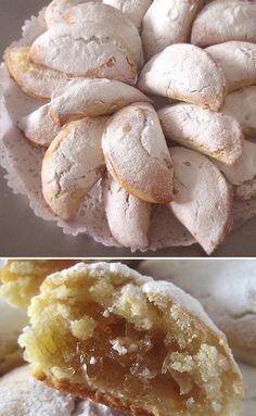 CUERNOS DE GACELA- ARABE - #Receta de cuernos de gacela, #Pastelería árabe | #Hosteleria #Salamanca .es