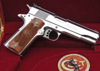 Nickel Colt 1911 For Sale or Trade on www.iBarterAndTrade.com