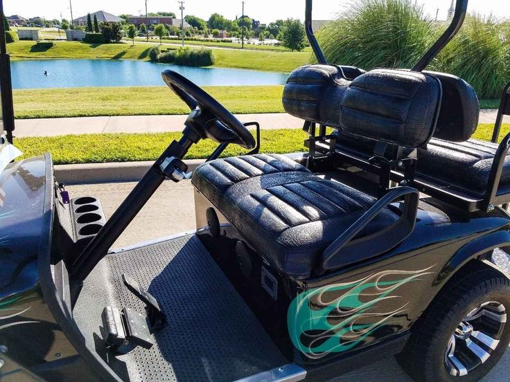Used 2012 E-Z-Go GOLF CART ATVs For Sale in Texas. Selling our Amazing GOLF CART. Life of the party for the last 4 years. We now have a teen driver and it does not get driven in our neighborhood anymore.**Excellent Used Condition **Purchased 4 years ago for $7,530 plus an additional $550 for battery charger & golf bag carrier attachment.This is Custom built with all the bells & whistles !!For Neighborhood cruising, Hike & bike trails, Lake House or Grandma's house. Great for Trick or…