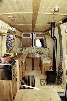 Image result for van life interior
