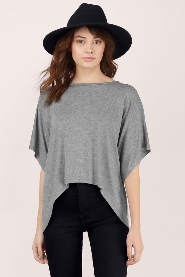 Roll With It Slouchy Tee at Tobi.com | #SHOPTobi | Casual Tops | Find yours at www.TOBI.com